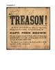 Pre-Civil War Abolitionist John Brown DBQ Document Analysis Practice