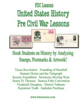 Pre Civil War U.S. History Warm Up/Review Lessons