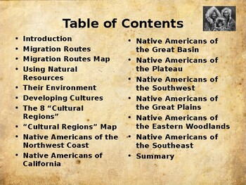 Pre-Colonial America - The First North Americans