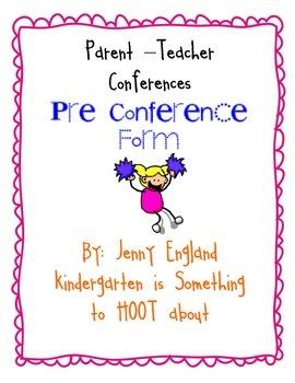 Pre Conference Form