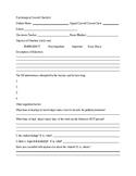 Pre-Consult Information form