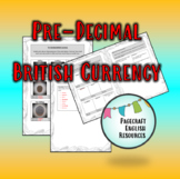 Pre-Decimal British Currency ... Research Worksheet
