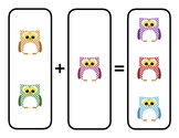 Pre-Elementary Visual Addition and Subtraction Sheet