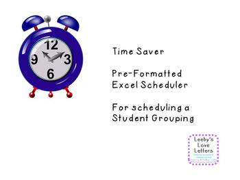 Time Saver Template Student Grouping Excel