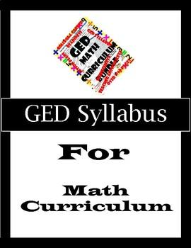 GED Math Syllabus