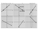 Pre-Graphing 02: Locate Identify Name the x-intercepts and y-intercepts  + QUIZ