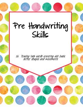 Pre Handwriting Task Cards