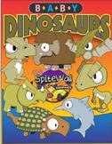 Pre-Historic Cuties - Baby Dinosaur Clip Art Variety Pack