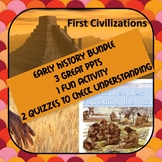 Pre-History Ancient History Ancient Civilizations Bundle!