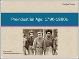 Pre-Industrial Age 1790-1860 Differentiated Instruction Po