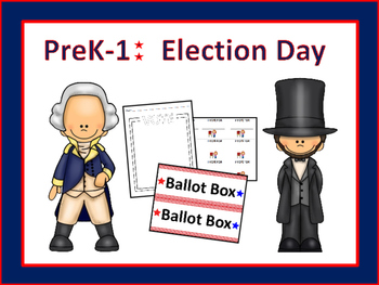 Pre-K-1: Election Day