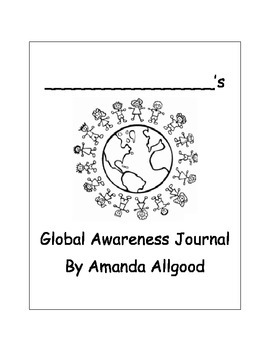 Pre K-2 Global Cultural Awareness Journal