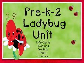 Preschool-2Ladybug Life Cycle Unit