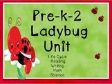 Spring Life Cycles Ladybugs