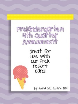Pre-K 4th Quarter Assessment