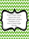Pre-K ABC, 123, and Sight Word Flash Cards