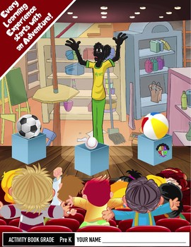 Pre K Activity Workbook
