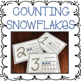 WINTER COUNTING 1 TO 10 NUMBER RECOGNITION & PLAYDOUGH MATS