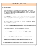 Pre K All About Us Unit of Study Planning Guide