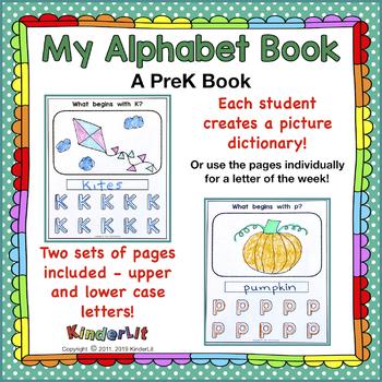 My Alphabet PreK Book
