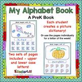 Alphabet Dictionary - A PreK Book
