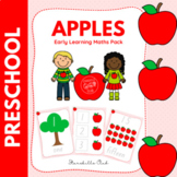 Pre K Apple Math Centers