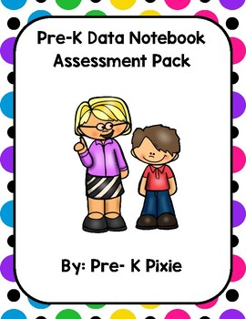 Pre-K Assessment Pack with assessment cards