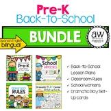 Back-to-School Pre-K BUNDLE! - Lesson Plans & Thematic Uni