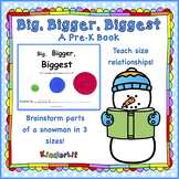 Big Bigger Biggest PreK Book