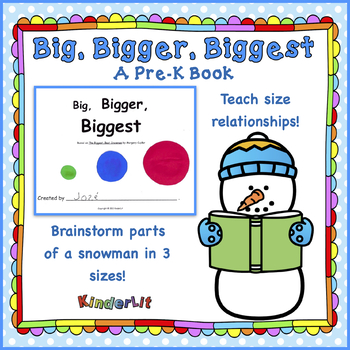 Big Bigger Biggest PreK Book