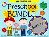 Pre-K Bundle - year long learning - 679+ pages of plans, g