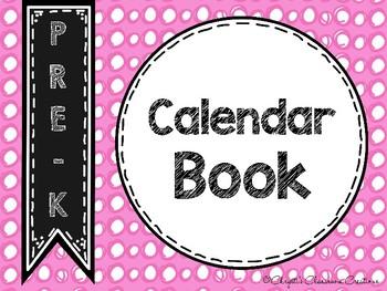 Pre-K Calendar Book