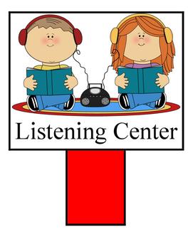 Pre-K Center Signs