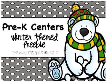Pre-K Center: Winter Themed Freebie