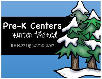 Pre-K Centers: Winter Themed