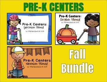 Pre-K Centers: Fall Bundle