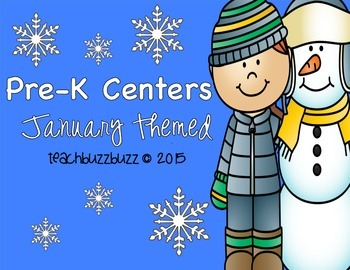 Pre-K Centers: January Themed