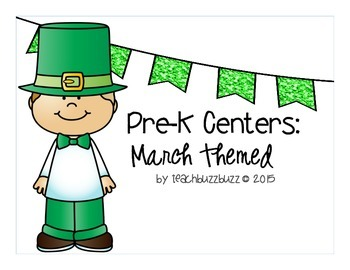 Pre-K Centers: March Themed