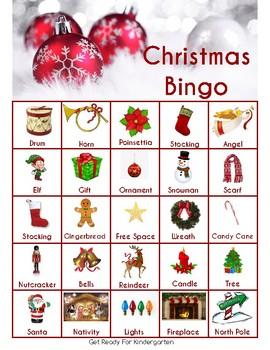 Pre-K Christmas Packet