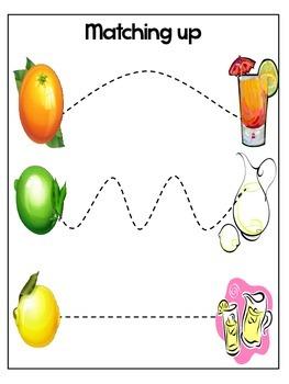 Pre-K Citrus Theme Pack