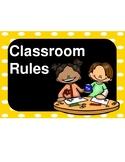 Pre-K Classroom Rules