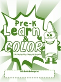Pre-K Coloring book