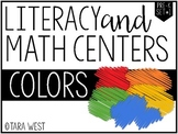 Pre-K Colors Themed Centers *Limited Release*