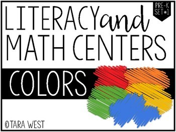 Colors Themed Centers