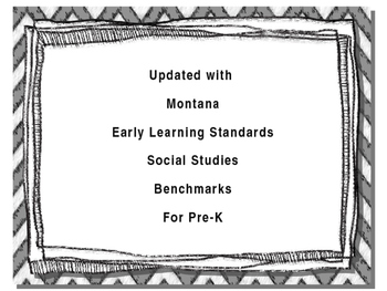 Pre-K Common Core Teaching Guidelines I Can Statements
