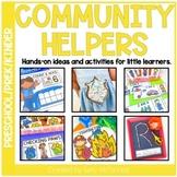 Pre-K Community Helpers Themed Activities