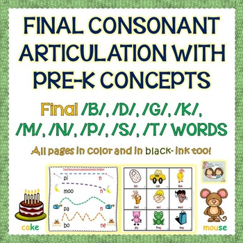 Speech Therapy: Interacting With Pre-K Concepts Targeting