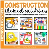 Pre-K Construction Themed Activities