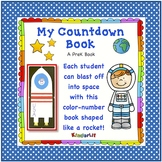 Counting Backwards - A PreK Space Countdown Book