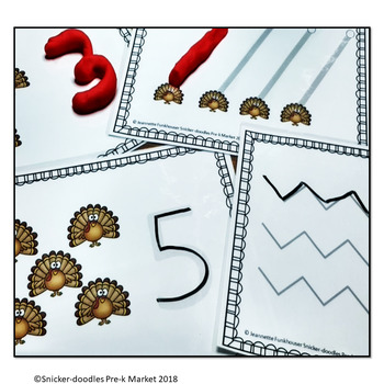 THANKSGIVING COUNTING TO 10 ADAPTED BOOK